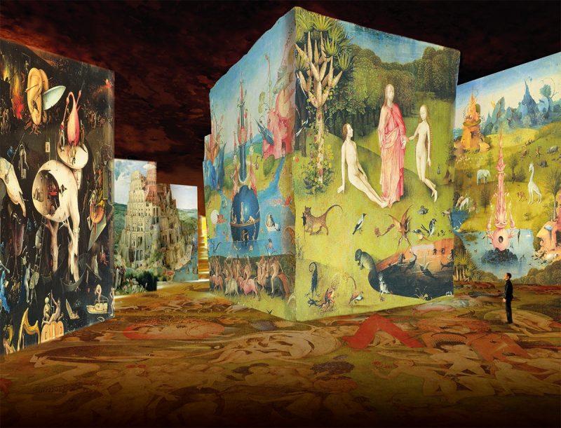 Exposition Carrières de Lumières